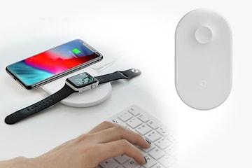 QI-laddare för mobil och klocka. QI-laddare för mobil och klocka. Trådlös  laddning för två enheter samtidigt. 249 kr. 685 kr. Mobilplånbok med magnet  till ... 463fca0ff2afe