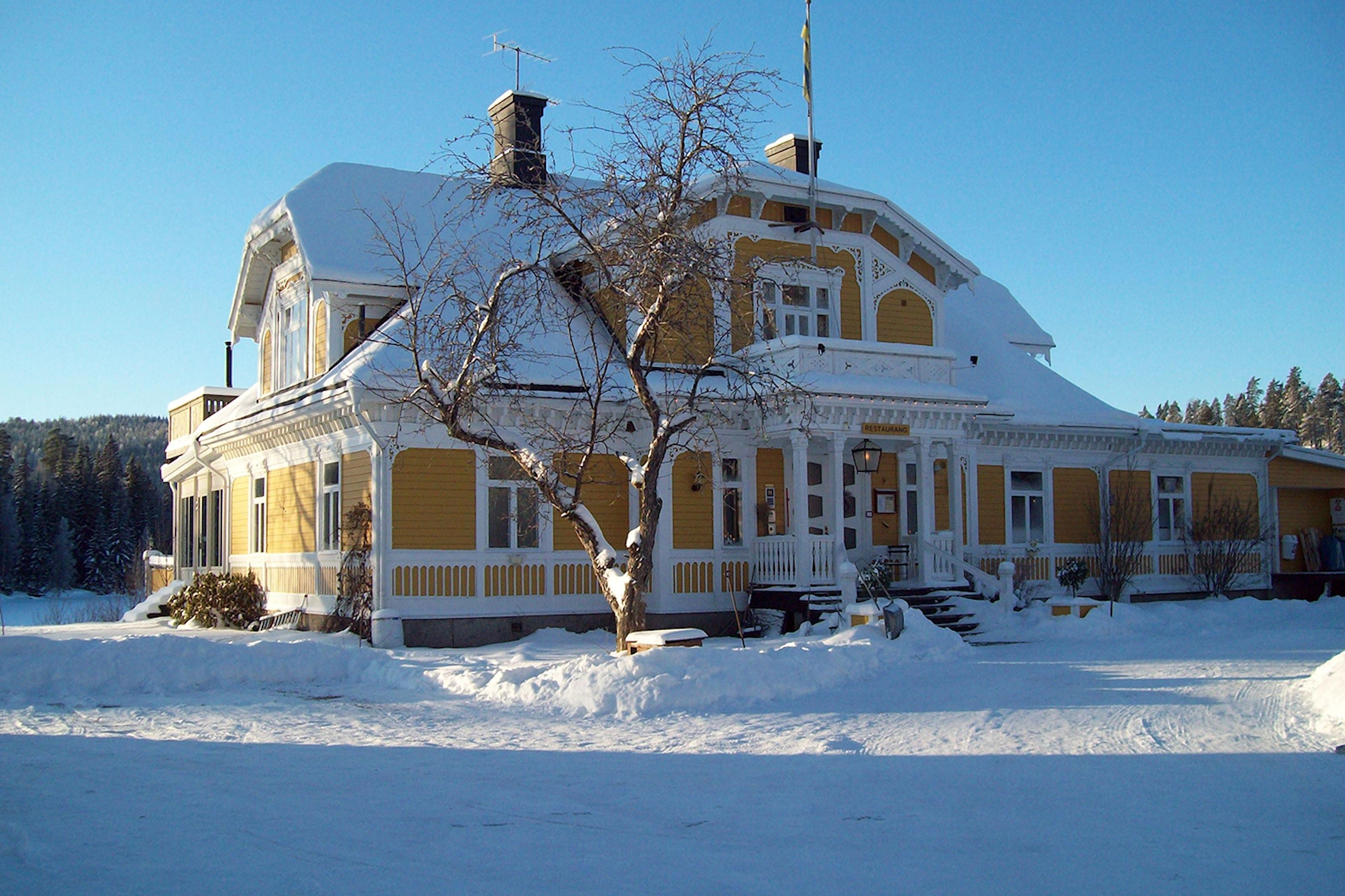 Fjällmys på Lugnet hotell i Dalarna
