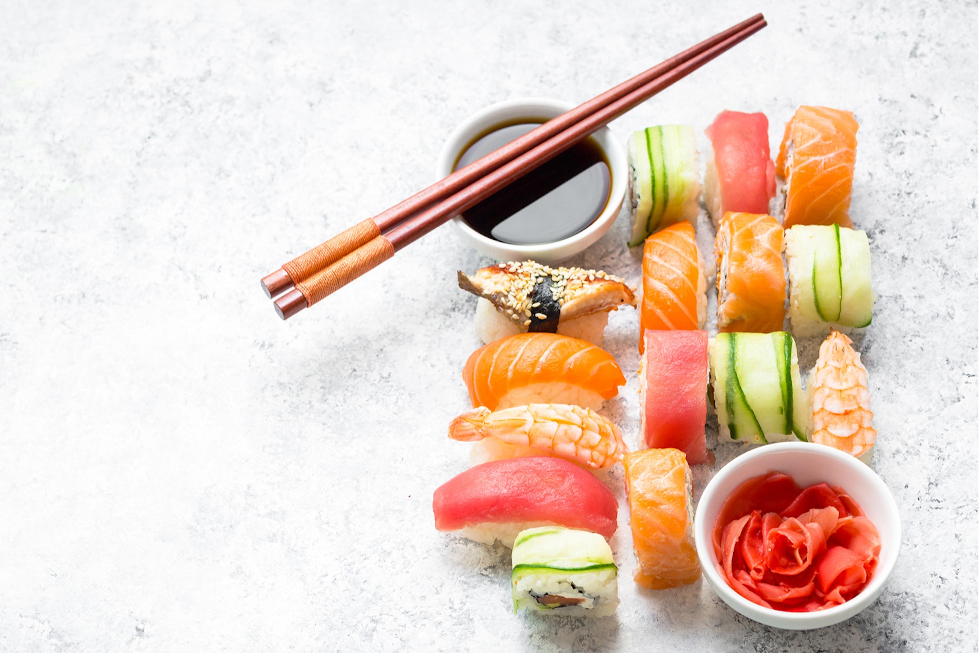 Sushi hos Harmoni Food